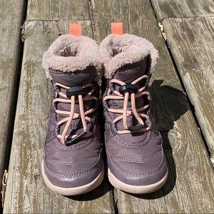 Sorel girl's waterproof winter boots, size 11